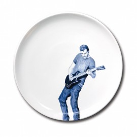 Assiette Guitar Hero - Faiencerie Georges