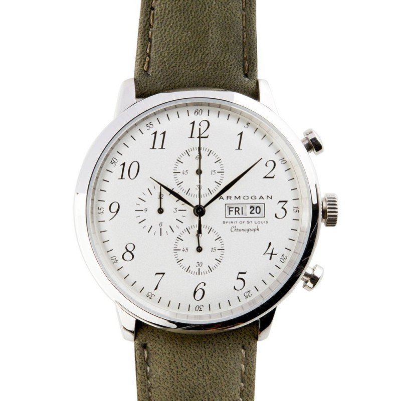 Montre Spirit of St. Louis Autumn Green - Armogan