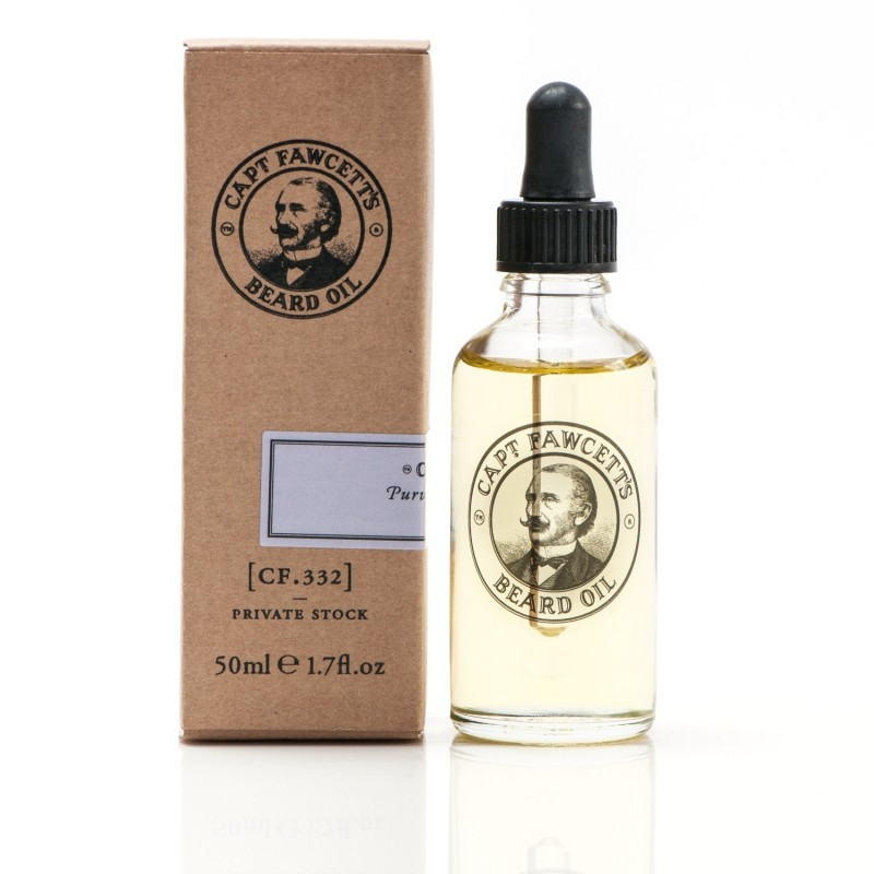 Huile pour Barbe Artisanale Private Stock - Captain Fawcett