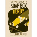 Affiche Rétro Soap Box Derby - WPA
