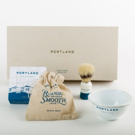 Coffret de Rasage Traditionnel Portland