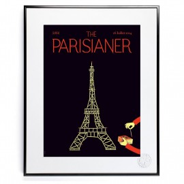 Affiche Tour Eiffel - The Parisianer