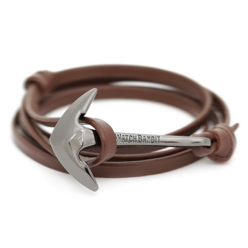 Bracelet Ancre Brown Admiral Anchor