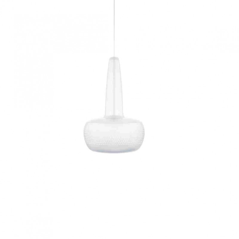 Suspension Clava Matt White Vita