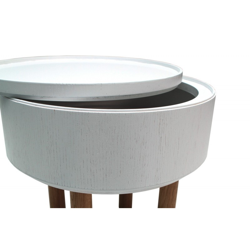 Table Basse Coffre Hat Blanche
