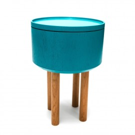 Table Basse Coffre Hat Bleue