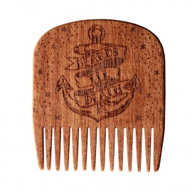 Peigne à barbe Beards Til Death - Big Red