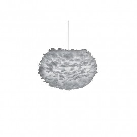 Suspension Lumineuse EOS Grise 45 cm - Vita