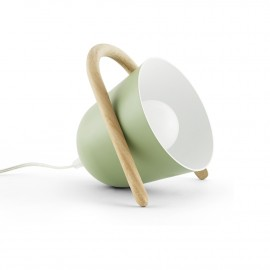 Lampe de table Elmetta Verte