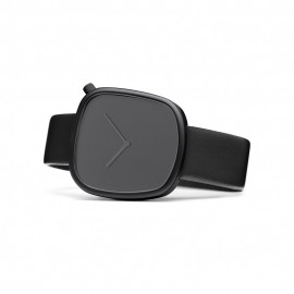 Montre Design Pebble Noir