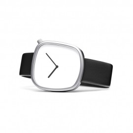 Montre Pebble Blanche