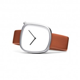 Montre Design Pebble Fauve
