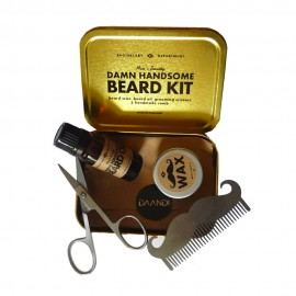 Kit Barbe Beard Grooming Kit Men's Society