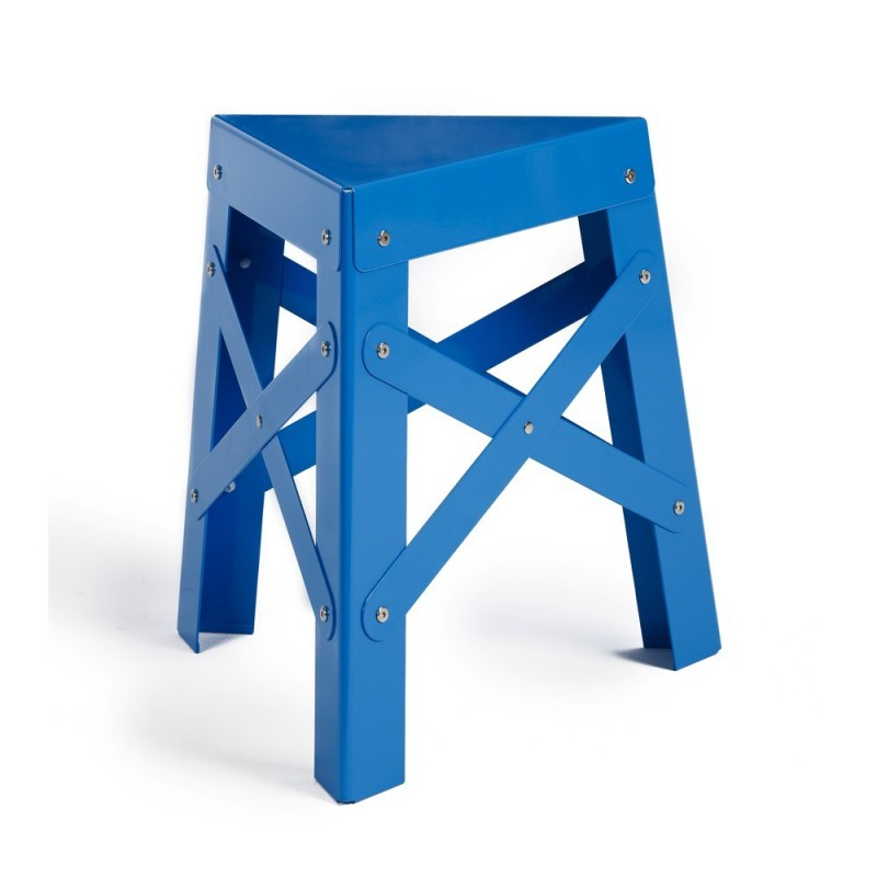 Tabouret eiffel design en aluminum couleur rs barcelona for Tabouret barcelona