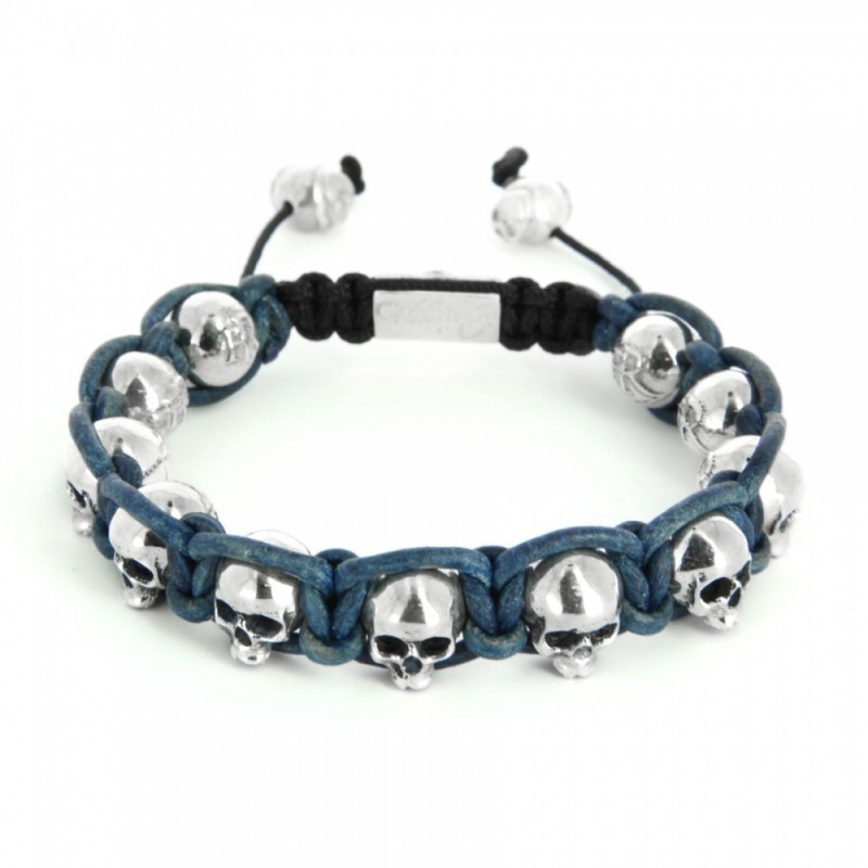 Bracelet Black Beard Bleu